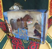 Aragorn Deluxe Horse and Rider